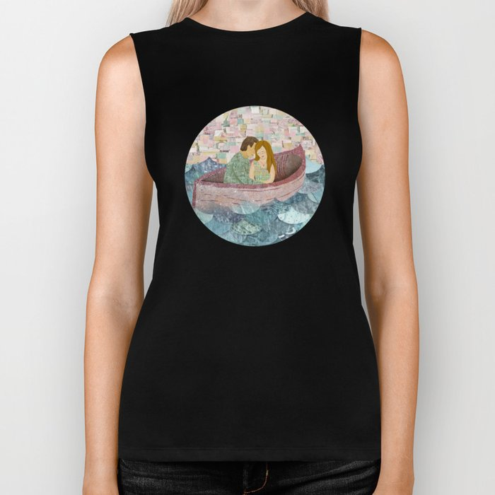 and they lived happily ever after Biker Tank
