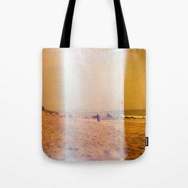 Light Leak Surfer Tote Bag