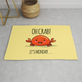 Crabby Day! Rug