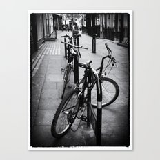 Bikes in London Canvas Print