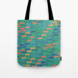 Ocean Swirls Tote Bag