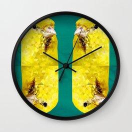 Canary Wall Clock