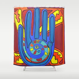 Harmony Hand Shower Curtain