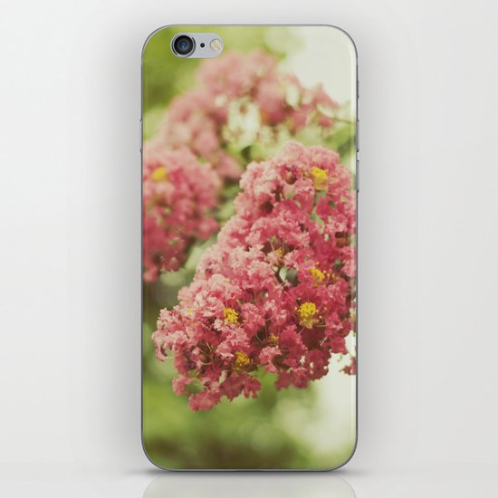 """Flowers are restful to look at. They have neither emotions nor conflicts. "" iPhone & iPod Skin"
