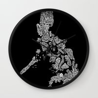 philippines Wall Clocks featuring Paranormal Philippines (black) by Rev Cruz