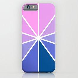 Purple Pink Aesthetic iPhone Case