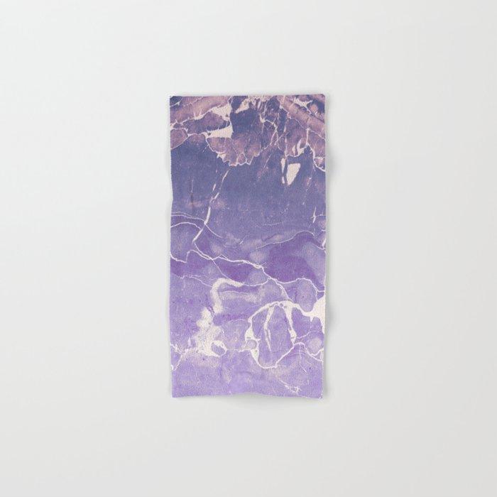 Ultraviolet Marble Hand & Bath Towel