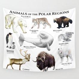 Animals of the Polar Regions Wall Tapestry