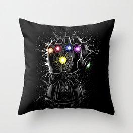 Infinity gems Throw Pillow