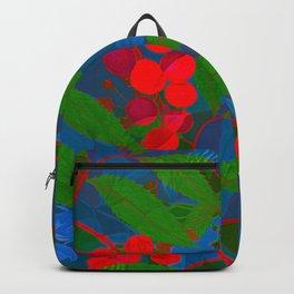 Red berries Backpack