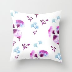 Imprints Throw Pillow