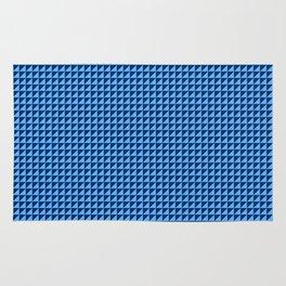 Blue Triangulate Rug