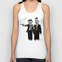 scary Tank Tops featuring Pulp Street by Beery Method