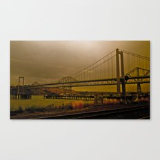 Industrial End Canvas Print