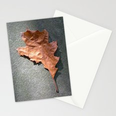 old leaf II Stationery Cards