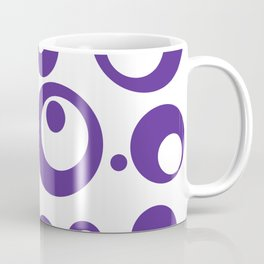 Circles Dots Bubbles :: Grape Juice Inverse Coffee Mug
