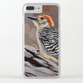 Red-bellied Woodpecker Clear iPhone Case