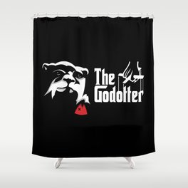 The Godotter Shower Curtain