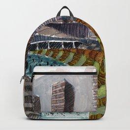 Meandering Landscapes: November Train Backpack