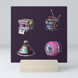 Illustration 90s Retro Mini Art Print