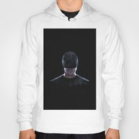 daredevil Hoodies featuring Low Poly Daredevil by Canton Everett