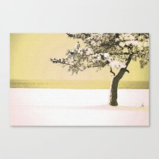 A Winter Moment Canvas Print