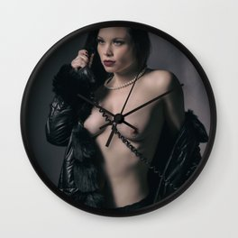 Give Me a Call Wall Clock