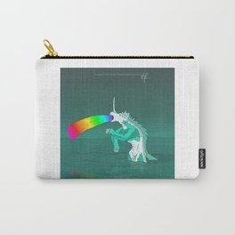 Rejected Kaiju #2 (Sea Horse or Unicorn or Seahorsicorn or whatever) Carry-All Pouch