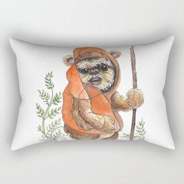 Feisty Bear-creature Rectangular Pillow