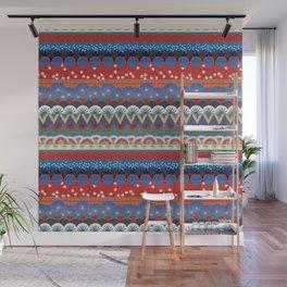 Japanese Tribal Design Wall Mural