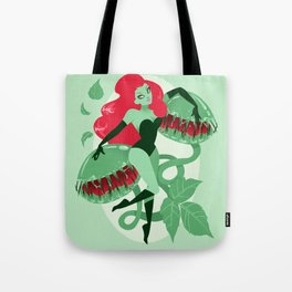 Poison Ivy Pin-up Tote Bag