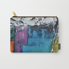 TETRIS, Abstract  Acrylic Painting, colorful mosaic Carry-All Pouch