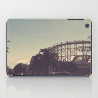postcard iPad Cases featuring postcard moments by Lewis Best