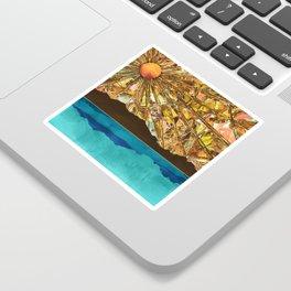 Fractured Sky Sticker