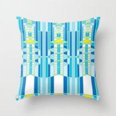 FL Wright Design Throw Pillow
