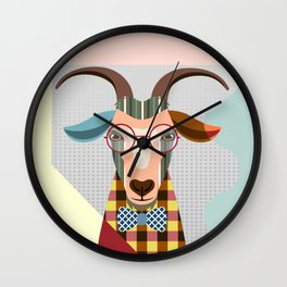 Billy Goat Wall Clock