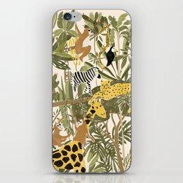 Th Jungle Life iPhone Skin