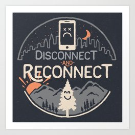 Reconnect... Art Print