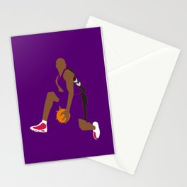 NBA Players   Vince Carter Dunk Stationery Cards