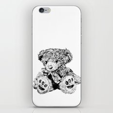 Teddy iPhone & iPod Skin