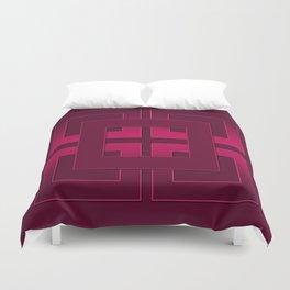 Rubin , geometric Duvet Cover