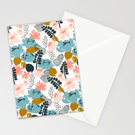 late summer floral Stationery Cards