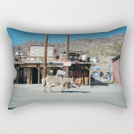 Jackass Junction Rectangular Pillow