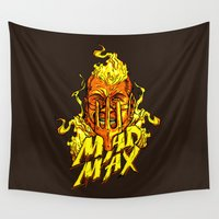 mad Wall Tapestries featuring Mad by Demonigote