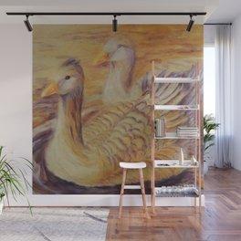 Duo of tenderness | Duo de tendresse Wall Mural