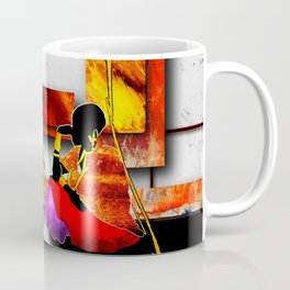 Africa retro vintage style design illustration Coffee Mug