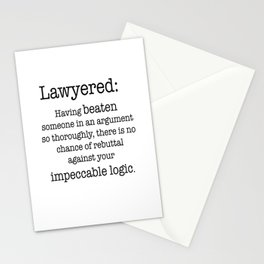 Lawyered Stationery Cards