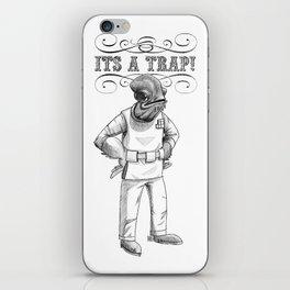 Its a trap - Admiral Akbar iPhone Skin