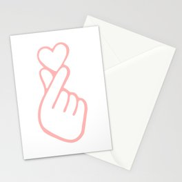 HEART HAND Stationery Cards
