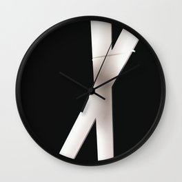 Lighting of the Jewish museum in Berlin, Germany  - Travel photography Wall Clock